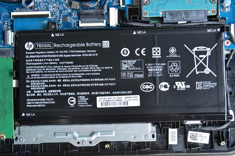 HP Omen 15-ax000 Disassembly and RAM, HDD, SSD upgrade guide