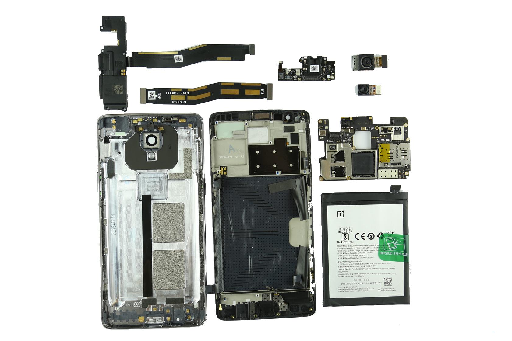 OnePlus 3T Teardown - Laptopmain com