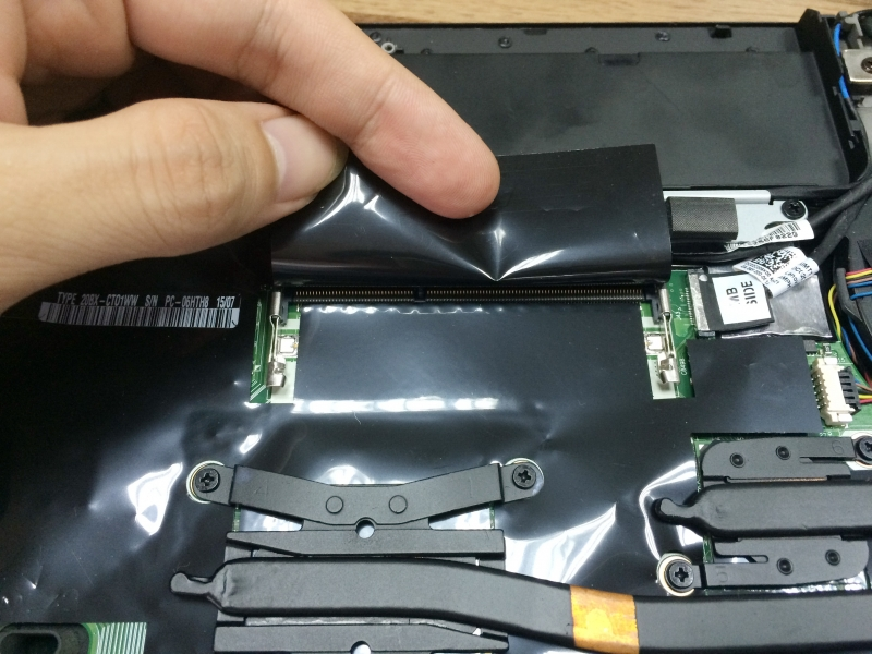 Lenovo ThinkPad T450s Disassembly and RAM, HDD, SSD upgrade