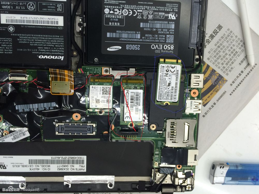 Lenovo Thinkpad X250 Disassembly And Ram Hdd Ssd Upgrade