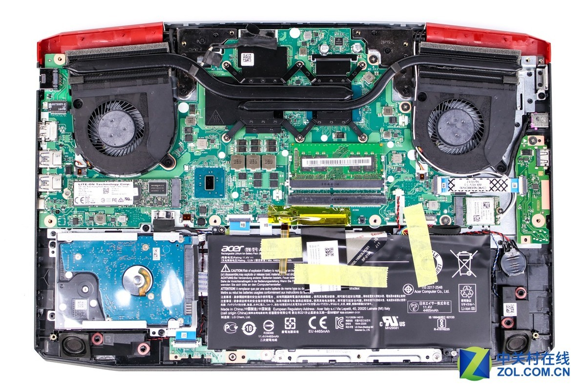 Acer Aspire VX 15 VX5-591G Disassembly and RAM, SSD, HDD