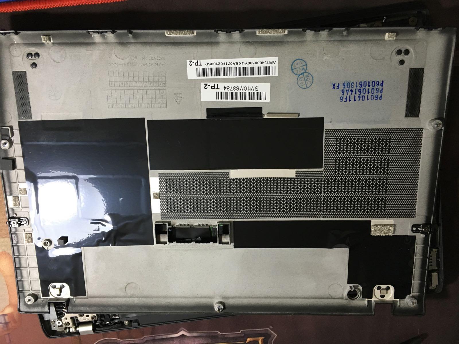Lenovo Thinkpad T470s Disassembly and RAM, SSD Upgrade