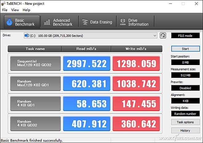 Lenovo ideapad 720S SSD performance