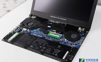 Asus ROG Zephyrus GX501VI Disassembly