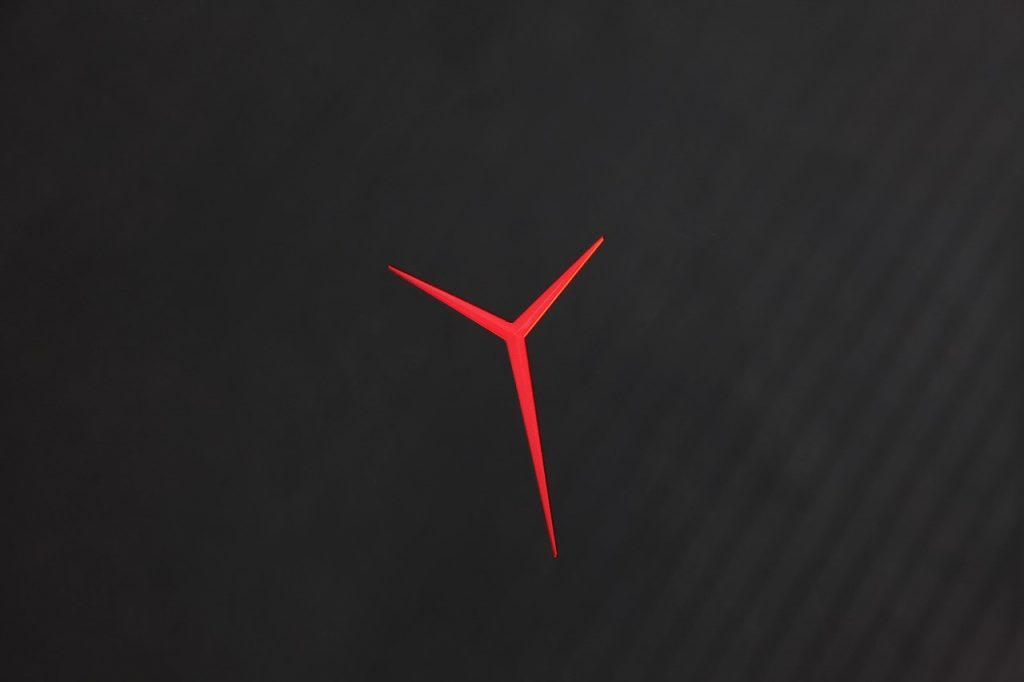 Lenovo Legion Y720 backlit logo