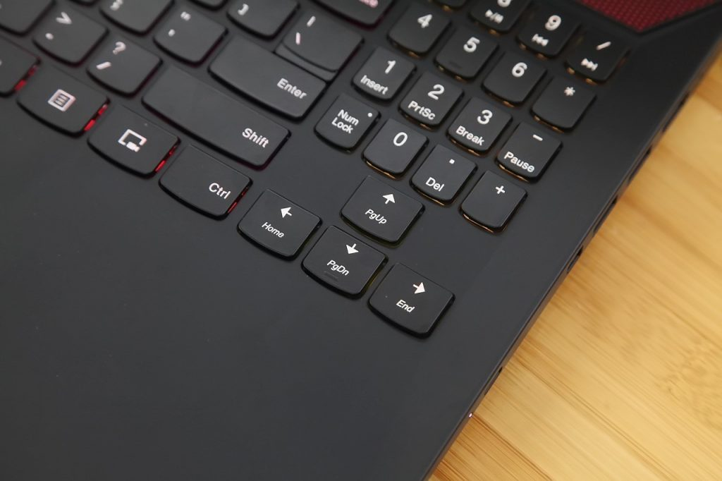 Lenovo Legion Y720 keyboard