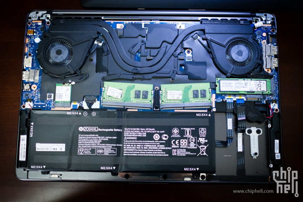 HP ZBook Studio G4 Disassembly (SSD, RAM Upgrade Options
