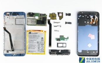 Huawei Honor V9 Play Teardown