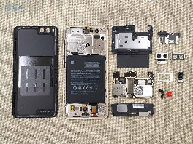 Xiaomi Mi Note 3 Teardown