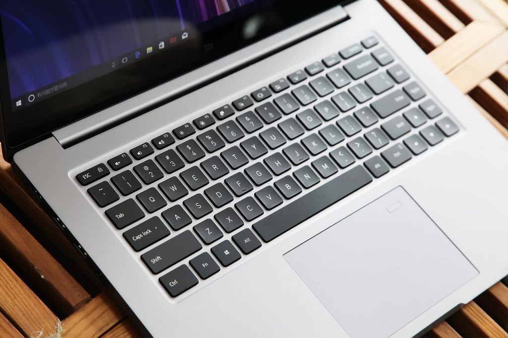 Xiaomi Mi Notebook Pro keyboard