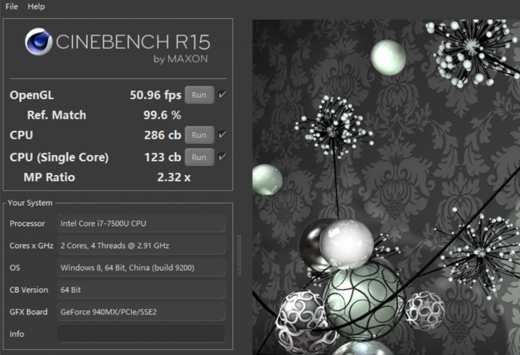 ASUS ZenBook UX430UQ processor performance