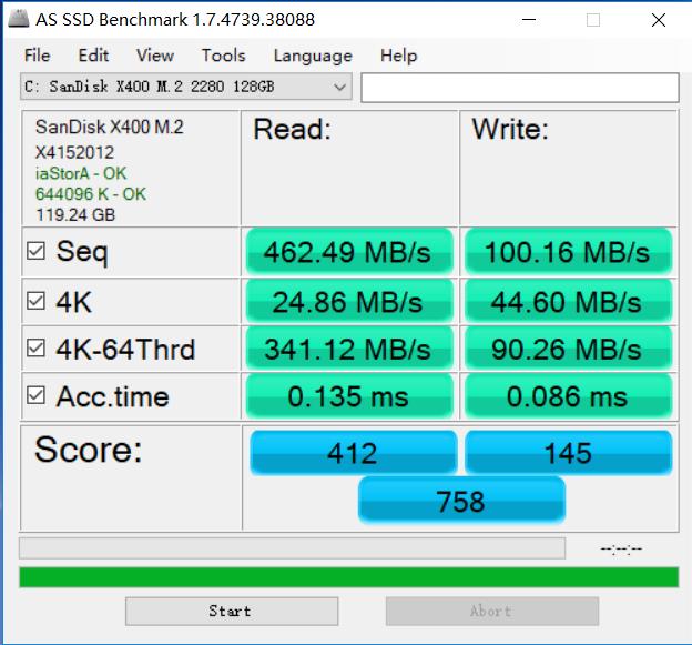 Dell Inspiron 15 7567 ssd benchmark