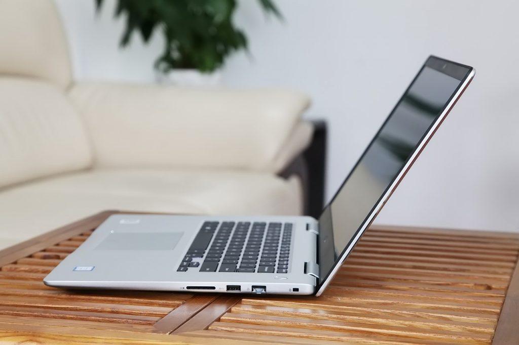 Dell Inspiron 15 7570 laptop slimness