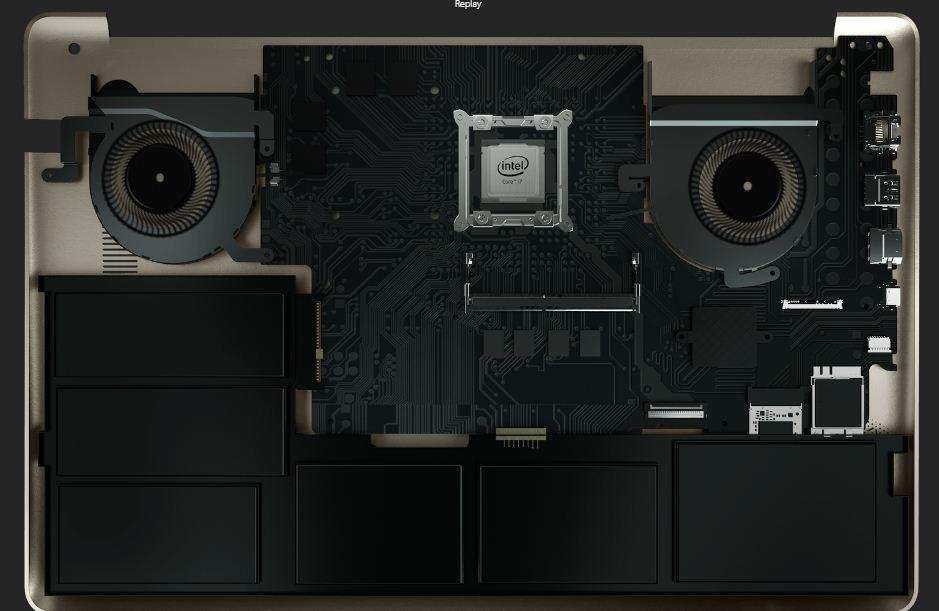 N580VD dual fans