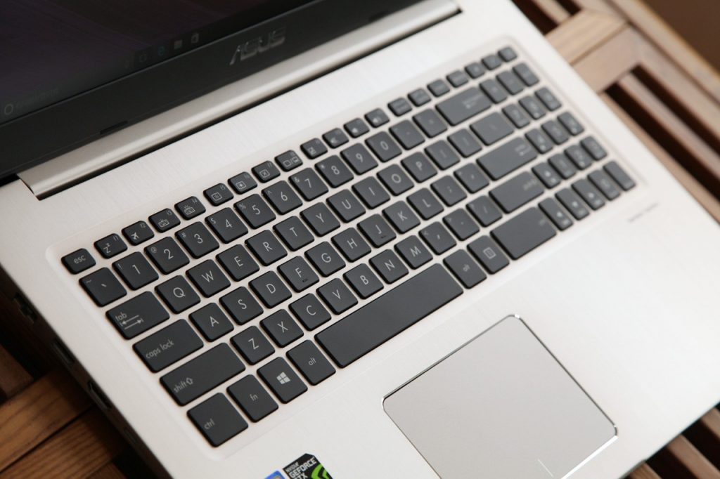 N580VD keyboard