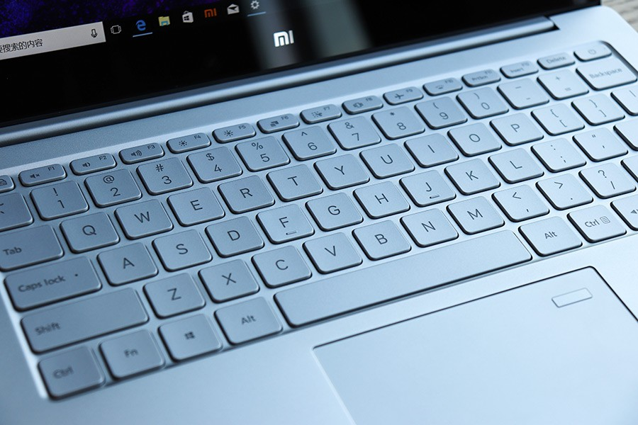 xiaomi mi notebook Air 13 real keyboard