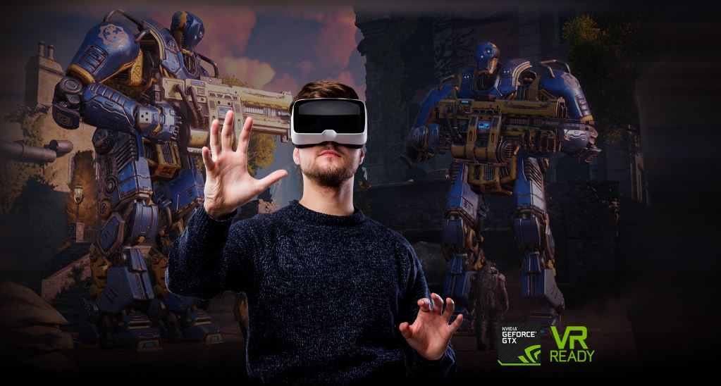 Asus ROG Strix GL702VI VR headset