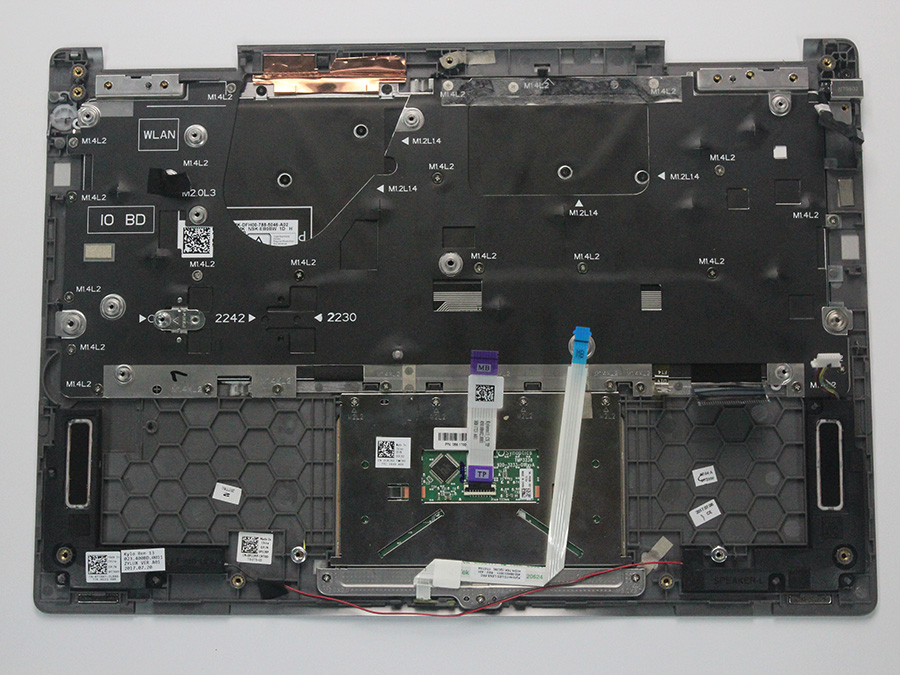 Dell Inspiron 13 7373 Disassembly (SSD, RAM Upgrade Options