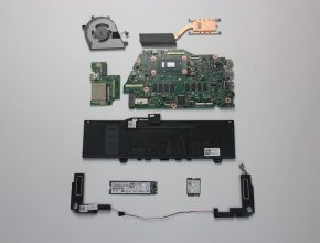Dell Inspiron 13 7373 internal pictures