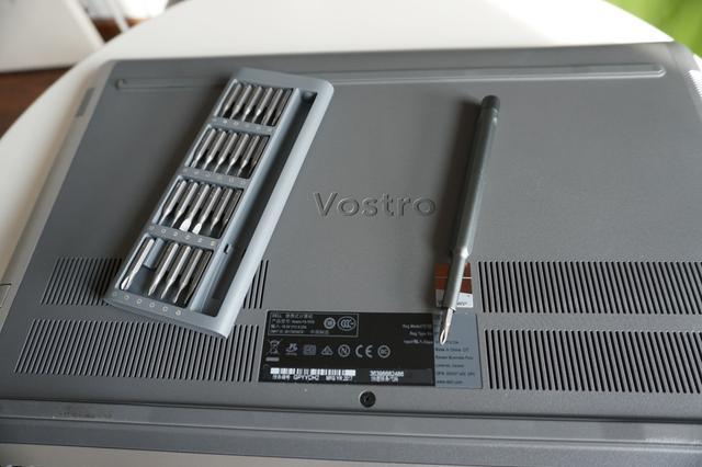remove Dell Vostro 15 7000 7570 bottom cover