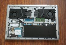 Dell Vostro 15 7000 7570 internal picture