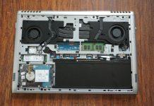 Dell Vostro 15 7000 7570 internal picture