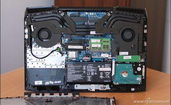 HP Omen 17-an000 internal picture