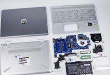 HP Pavilion 15-ck000 internal picture