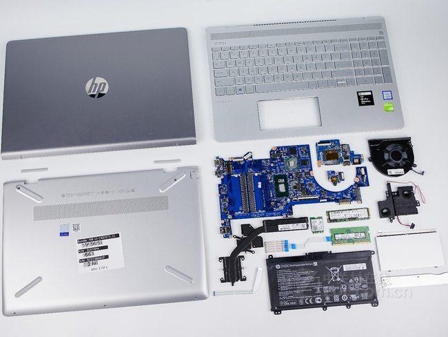 HP Pavilion 15-ck000 internal picture