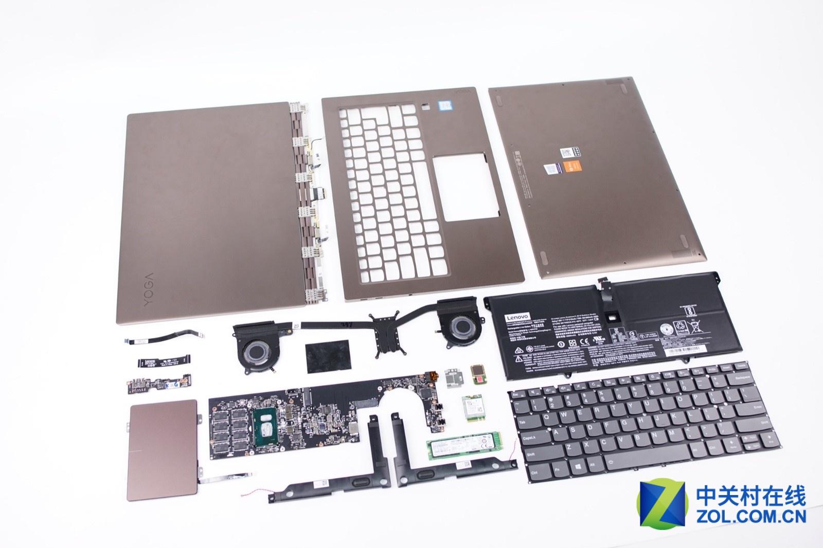 Lenovo Yoga 920 Disassembly (SSD, RAM Upgrade Options