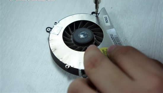 cooling fan plate