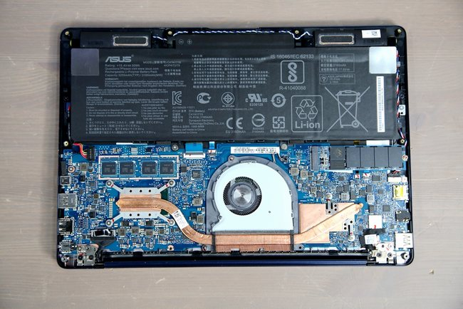 Asus Zenbook 13 Ux331un Review Disassembly And Ssd Ram