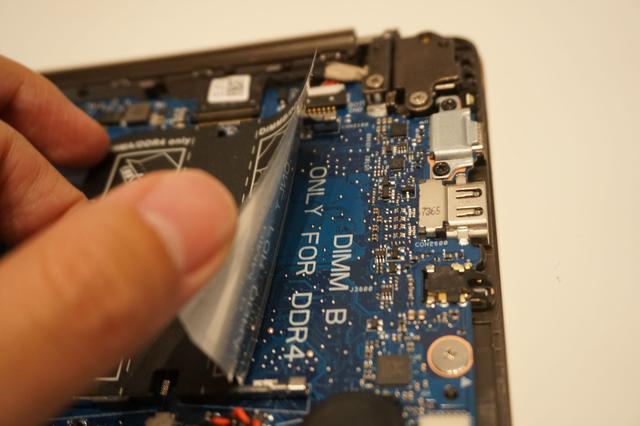 Dell Vostro 13 5370 spare RAM slot
