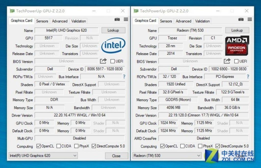 Dell Vostro 14 5471 GPU TEST