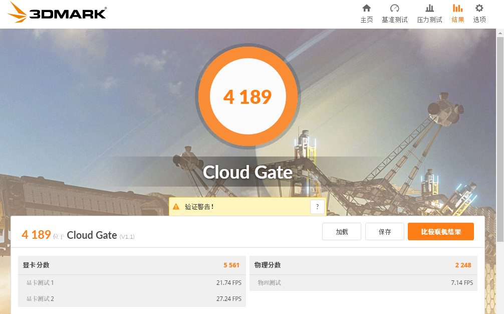 Lenovo ThinkPad A475 3DMARK Cloud Gate