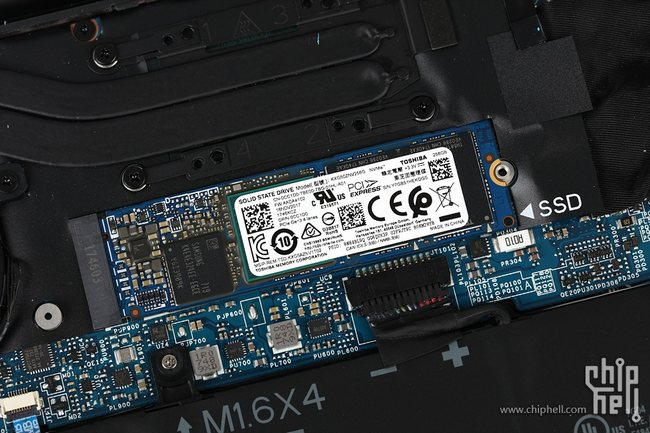 Dell XPS 13 9370 256GB PCIe NVMe M.2 SSD
