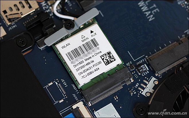 Dell Latitude 7390 wireless card