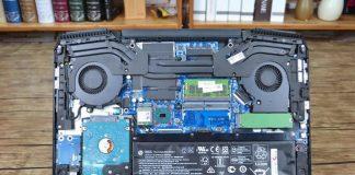 HP Omen 15-CE000 internal picture