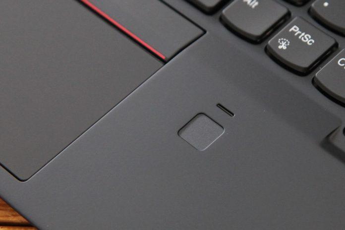 Lenovo ThinkPad X1 Carbon 2018 Fingerprint