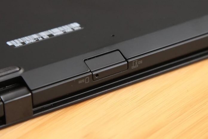 Lenovo ThinkPad X1 Carbon 2018 SIM card