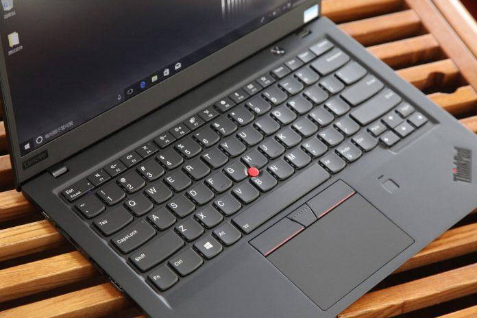 Lenovo ThinkPad X1 Carbon 2018 keyboard