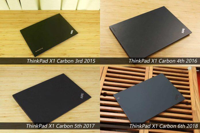 Lenovo ThinkPad X1 Carbon list