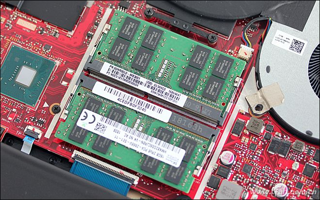 Asus ROG Strix Scar II GL504GS Disassembly and RAM, SSD, HDD