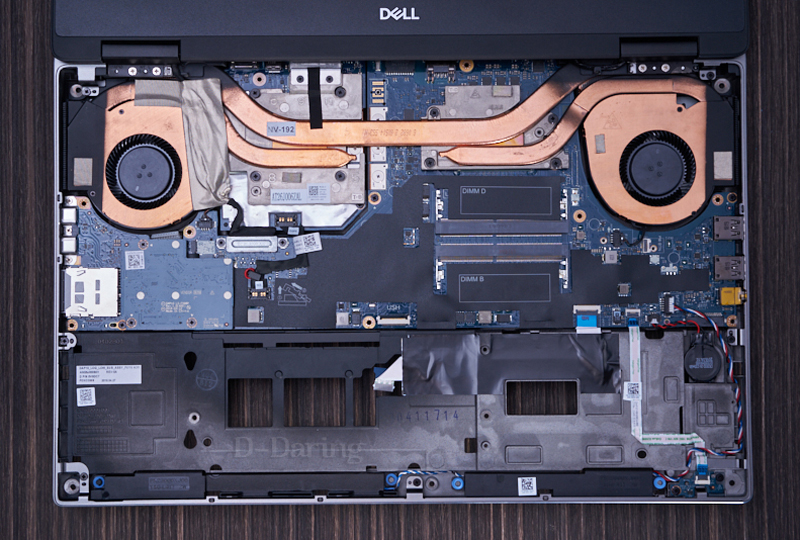 Dell Precision 7530 Disassembly and SSD, HDD, RAM Upgrade Options