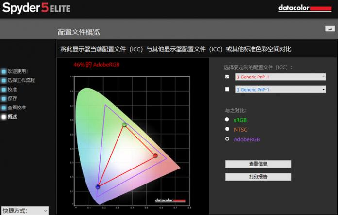 AdobeRGB color gamut