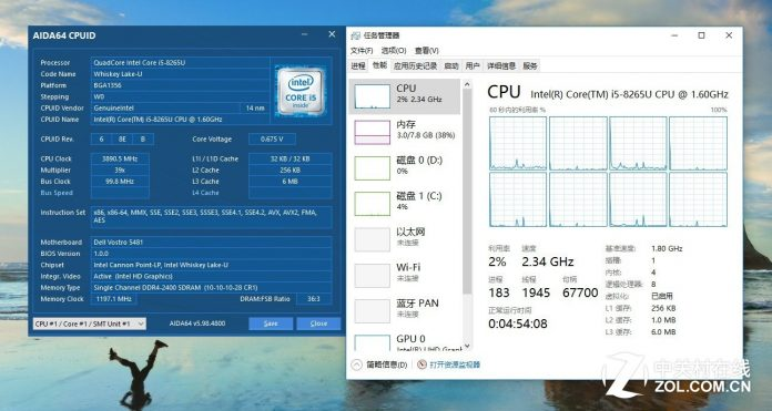CPU specification