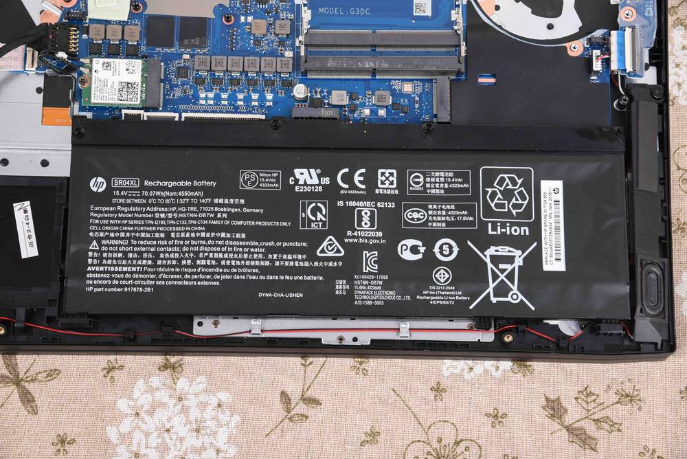 HP Omen 15-DC Disassembly and RAM, SSD, HDD upgrade options