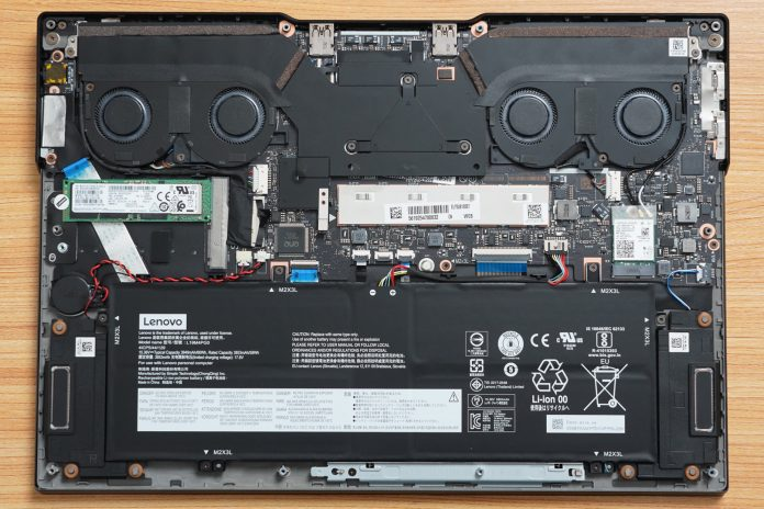 Lenovo Legion Y740S Disassembly
