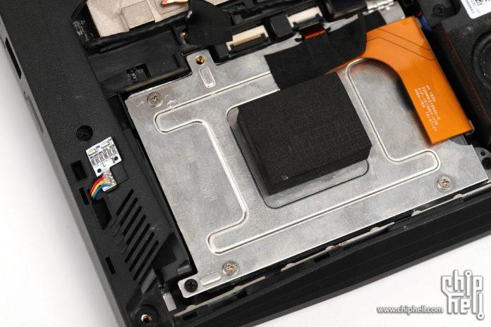 MSI GT76 Titan hard drive